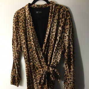 Zara Jumper - Leopard Print
